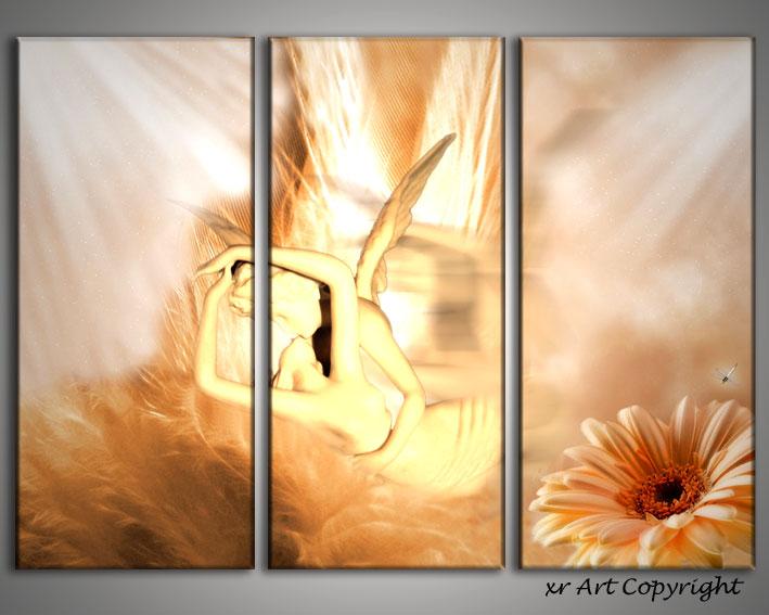 Quadro moderno angels quadri angeli arte contemporanei for Quadri contemporanei