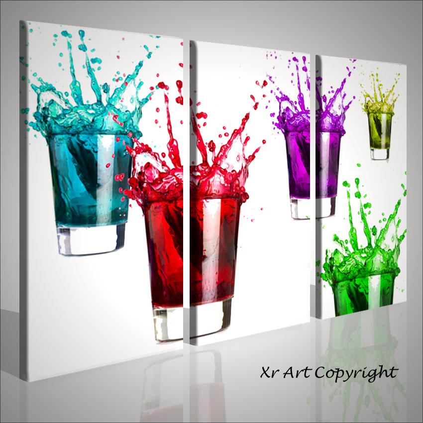 quadro moderno emotion cocktails arredamento complementi