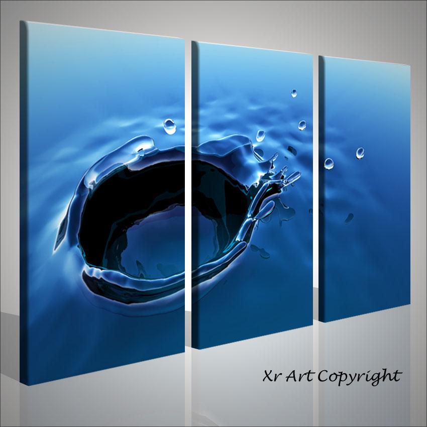 Quadro moderno digitals water quadri per arredamento casa moderna astratti ebay - Quadri per casa moderna ...