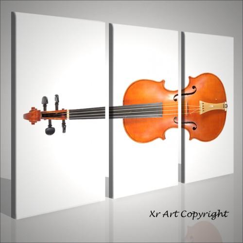 Quadri moderni strumenti musicali violino quadri moderni for Quadri acrilici astratti