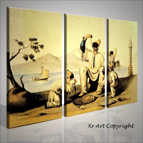 Quadri moderni pulcinella paesaggi napoletani quadri moderni for Quadri da arredamento moderno