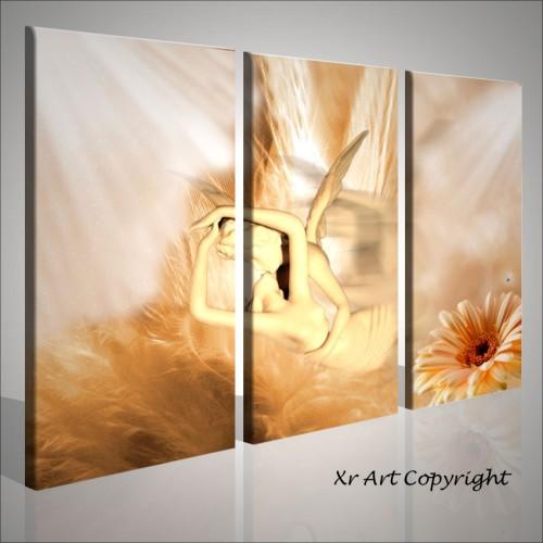 Angels quadri moderni astratti stampati, effetto quadro | Quadri moderni