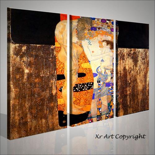 Quadri gustav klimt artisti famosi quadri moderni for Pittori astratti moderni