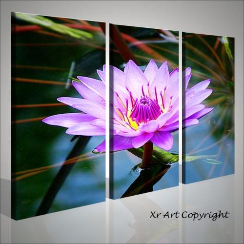 Quadri moderni stampati fiori e piante colorati quadri for Piante arredamento moderno