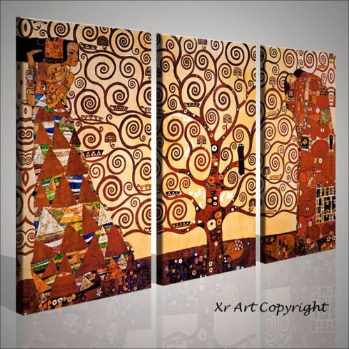 L\'albero della vita Gustav Klimt quadri pronti per essere appesi ...