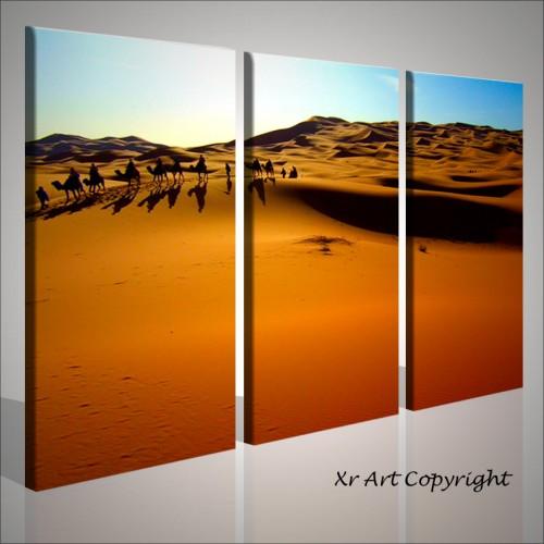 Quadri moderni deserto dune cammelli quadri moderni for Quadri arredamento moderno